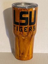 30 oz LSU stainless steel cup in Leesville, Louisiana
