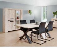United Furniture - Dining Set Ibe China with Lights - Table 180cm x 100cm -4 Chairs incl del in Ramstein, Germany