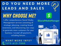 Never waste time on social media ever again! I can help with Social Media now! in Alamogordo, New Mexico