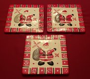 3 New Ceramic Santa Trivets with Hangers in Chicago, Illinois