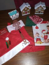 Kids Christmas Gingerbread gift lot in Spring, Texas