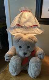 One of a kind!! TEDDYBEAR CHILDREN'S LAMP. With Lampshade. Perfect for nursery or child's room. in Aurora, Illinois