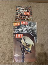 VINTAGE LIFE MAGAZINES. The Best of Life from 1973, 2 Full Life Magazines from 1972 & The MacArt... in Aurora, Illinois