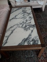 Living room table with real marble top in Stuttgart, GE
