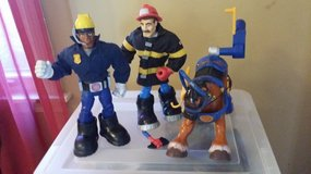 Vintage Rescue Hero People and Accessories in Plainfield, Illinois