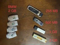 Assorted Flash Drives in Okinawa, Japan