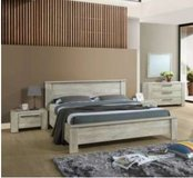 United Furniture - Ivy Full Size Bed with Mattress including delivery in Grafenwoehr, GE