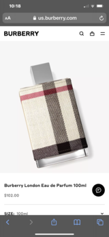NEW...Burberry London For Her Perfume in Kingwood, Texas