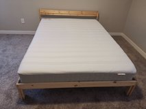 bed frame & mattress in Fort Lewis, Washington
