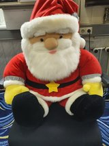 Santa Claus Sitting Plush 24 inches in Ramstein, Germany