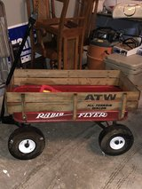 Radio Flyer All Terrain Wagon in good condition in Naperville, Illinois