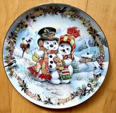FRANKLIN MINT FROSTY'S LOVE LETTER CHRISTMAS PLATE BY DAVID PARIS CRAIG EC LIMITED in Wiesbaden, GE