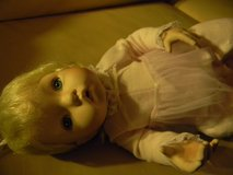 Ceramic and Fabric Baby Doll in Naperville, Illinois