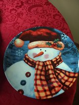 Snowman Serving Plate in Naperville, Illinois