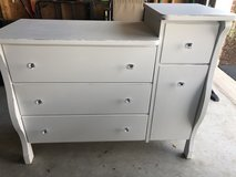 Newly refinished dresser/changing table in Naperville, Illinois