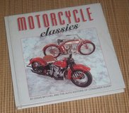 Vintage 1995 1st Edition Motorcycle Classics Hard Cover Book in Joliet, Illinois