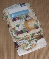NEW Mainstays 8 Piece Kitchen Set Pot Holders Oven Mitt Towels Dishcloth in Morris, Illinois