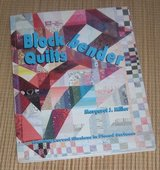 Vintage 1995 Blockbender Quilts Soft Cover Book in Bolingbrook, Illinois