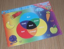 NEW Colors Puzzle 13 Shaped Pieces Educational Over Sized in Morris, Illinois