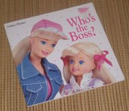 Vintage 1997 Dear Barbie Who's the Boss Soft Cover Golden Book in Joliet, Illinois