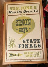 Simon Says Poster/Picture in Bolingbrook, Illinois