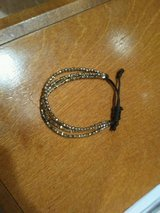 Cute sparkly gold bracelet in Chicago, Illinois