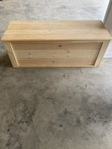Custom made toy box in Baytown, Texas