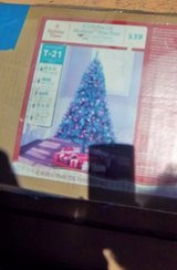 6.5 ft. pre-lit Christmas tree - Excellent condition. in Alamogordo, New Mexico