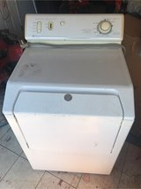 Electric dryer works good missing back cover or cord see in the photo in 29 Palms, California