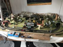 Märklin Train set with lots of extras in Ramstein, Germany