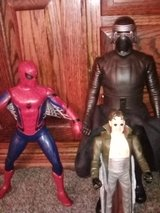A VARIETY OF ACTION FIGURES in Yucca Valley, California
