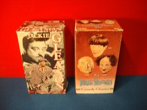 OLD VHS TAPES (JACKIE GLEASON & THE THREE STOOGES) in Bartlett, Illinois