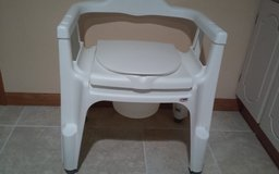 DELUXED BEDSIDE COMMODE in Plainfield, Illinois