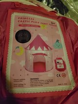 princess castle tent in Yucca Valley, California