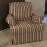 striped chair in Tomball, Texas