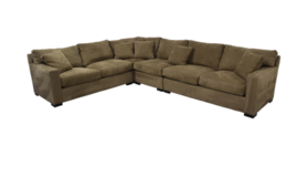 Crate & Barrel Axis 5 piece Sectional Couch in Naperville, Illinois