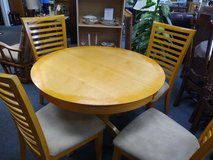Kitchen Table, 4 Chairs and 1 Leaf in Bartlett, Illinois