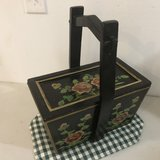 Hand Painted Wood Box in St. Charles, Illinois