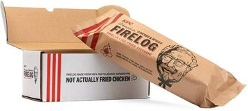 Kentucky Fried Chicken Firelog in Travis AFB, California