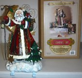 Christmas Double Stocking Holder / St Nick Holiday Tabletop Decor in Naperville, Illinois