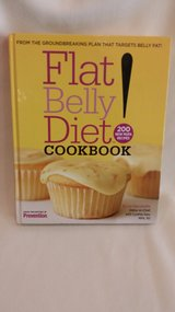 BOOK - FLAT BELLY DIET COOKBOOK in Westmont, Illinois