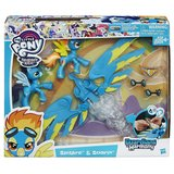NEW My Little Pony Guardians of Harmony Spitfire and Soarin' Figures in Plainfield, Illinois