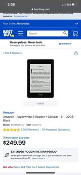 ***BRAND NEW Kindle Paperwhite 32gb Waterproof With Cellular Connectivity*** in Cleveland, Texas