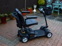 Mobility Scooter Pride Apex Lite 39/49 as new in Lakenheath, UK