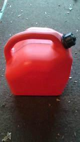 Plastic gas can in Naperville, Illinois