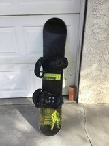 "Snowboard, 4' x 9 1/2"" in 29 Palms, California"