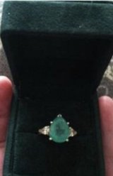 Genuine Emerald ring in Travis AFB, California
