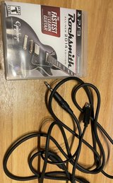 PS3 Rocksmith 2014 with Real Tone cable in Okinawa, Japan