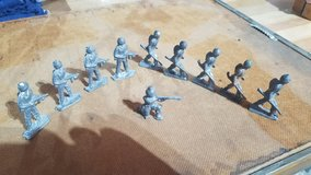 10 Cast Iron Toy Soldiers in Plainfield, Illinois