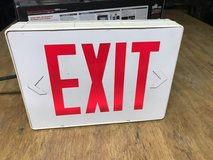 """LED """"EXIT"""" Sign With Battery Backup in Camp Lejeune, North Carolina"""